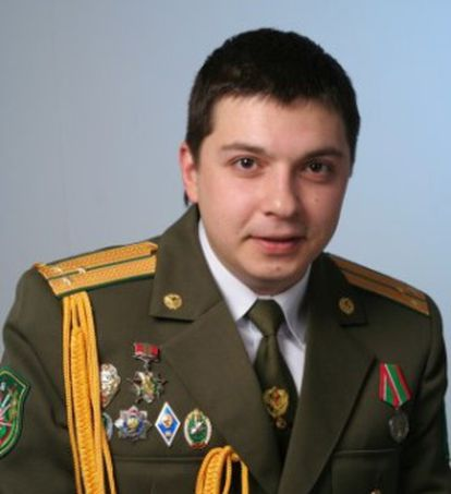 El exmilitar bielorruso Alexander Barankov.