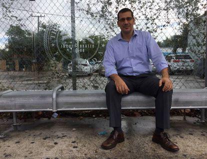 El opositor cubano Antonio Rodiles en Miami.
