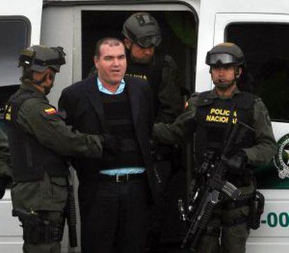 El narcotraficante venezolano Walid Makled, durante su extradición a Venezuela en 2011.