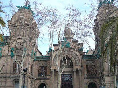Sede del Tribunal Superior de Justicia de Cataluña en Barcelona.