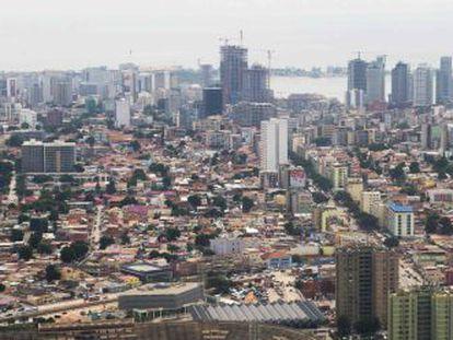El centro de Luanda, la capital de Angola.