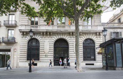 La Torre Muñoz, sede del Departamento de Empresa.