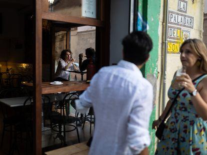 El bar Jabato en el barrio de Gràcia.
