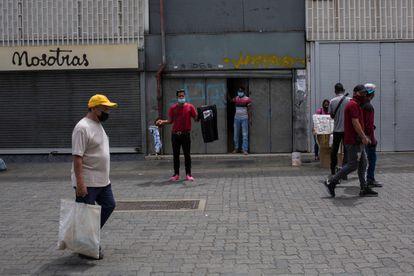 El boulevard Sabana Grande en Caracas, el pasado 22 de marzo.