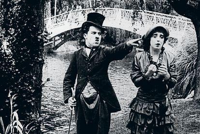 Escena del corto 'Mabel's married'
