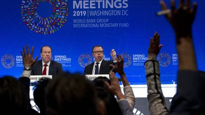 Rueda de prensa del Banco Mundial en Washington