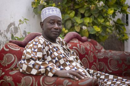 Habibou Moustapha Ndiaye es el jefe del barrio de Balacoss.