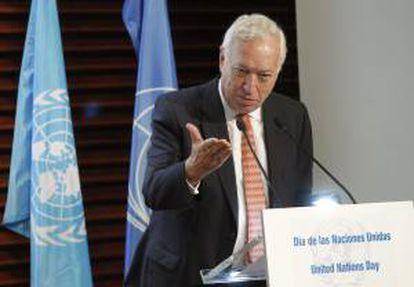 El ministro de Asuntos Exteriores y Cooperación, José Manuel García Margallo. EFE/Archivo