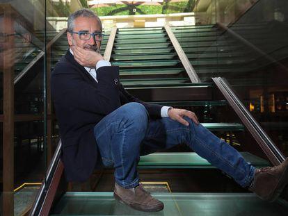 El director Javier Fesser, este martes en el hotel URSO de Madrid.