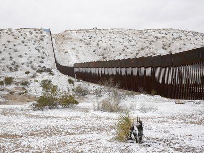 Una vista general de la frontera entre México y Estados Unidos en Ciudad Juárez, en una imagen de febrero de 2020.