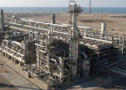 La planta de Damietta en Egipto