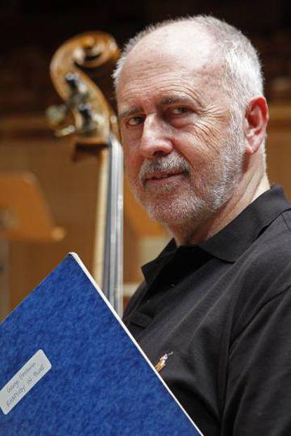 El director de orquesta Jesús López Cobos en 2011.