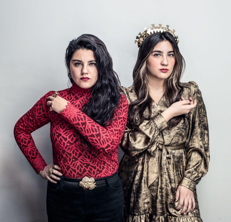 El grupo chileno Yorka, conformado por las hermanas Yorka y Daniela Pastenes.