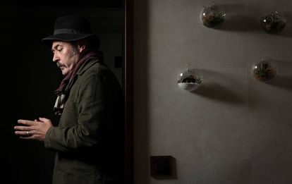 El cantanté inglés, Stuart Staples, fotografiado en Madrid el 6 de noviembre.