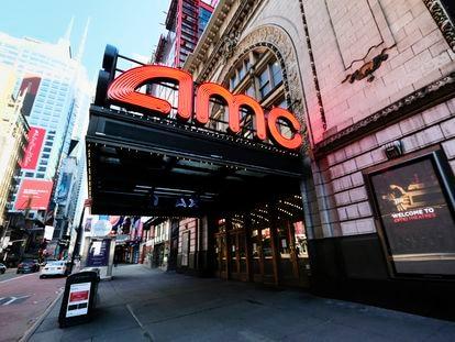 Una sala de AMC, la principal cadena de cine en Estados Unidos, en Nueva York.