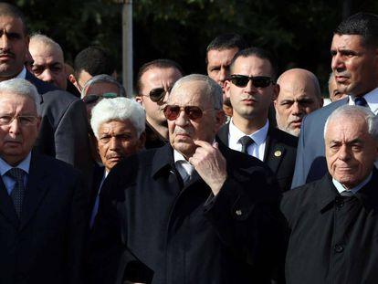 Ahmed Gaid Salah, jefe del Estado Mayor argelino, en Argel, en diciembre de 2017.