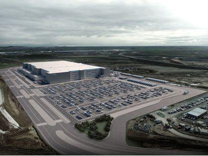 Nuevo centro de Amazon en Illescas (Toledo).