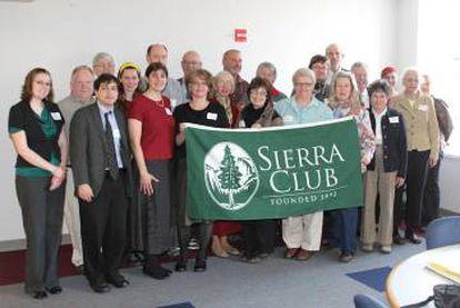 Miembros de la ONG Sierra Club.