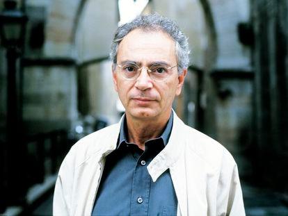 El escritor italiano Daniele Del Giudice en Módena, Italia, el 14 de julio de 2011.