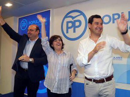 Moreno Bonilla confirma su apoyo a la exvicepresidenta a cuatro días de la celebración de las primarias