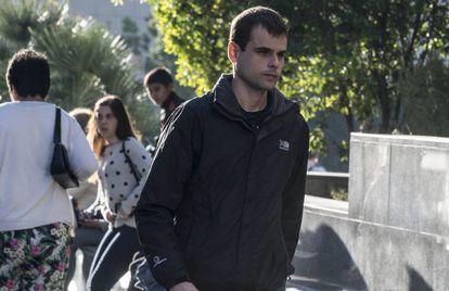 Rafael Blasco Ciscar, Rablaci, llega a declarar al juzgado.
