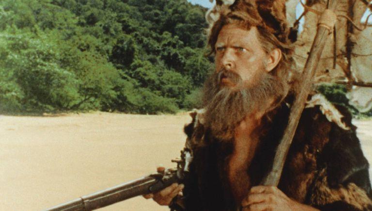 Dan O'Herlihy en el 'Robison Crusoe' de Buñuel (1954).