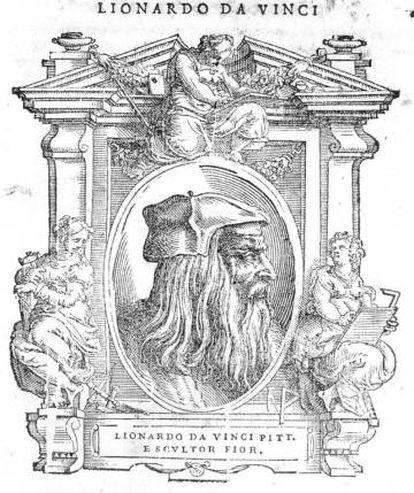 Xilografía de la segunda edición del 'Vasari' de 1568.