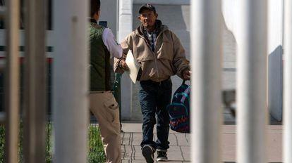 Carlos Gomez, el primer solicitante de asilo retornado desde Estados Unidos.