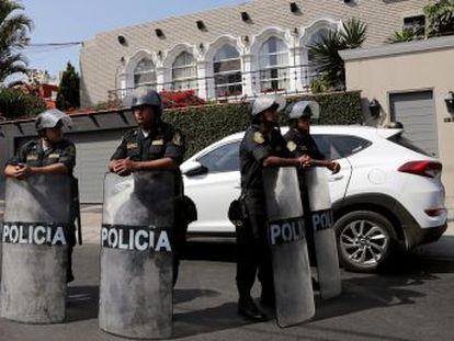 La orden del Poder Judicial exige prisión durante 10 días por presuntos vínculos del exmandatario peruano con la constructora brasileña.