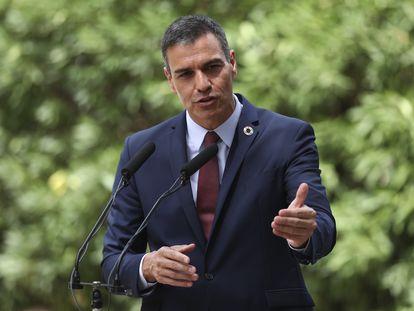 El presidente del Gobierno, Pedro Sánchez, el pasado 12 de agosto en Palma de Mallorca.