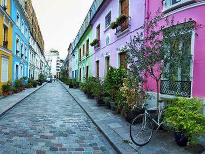 La rue Crémieux de París, ¿una calle o un espacio verde?