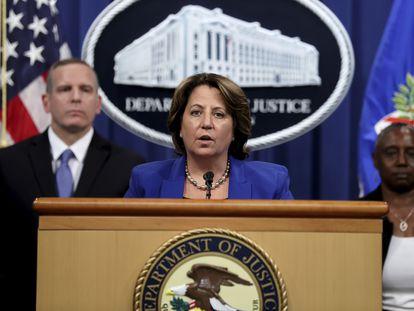 Lisa Monaco, la 'número dos' del Departamento de Justicia, anuncia la recuperación de 2,2 millones de dólares -equivalente a casi 64 bitcoins- del rescate que pagó Colonial tras el ciberataque.