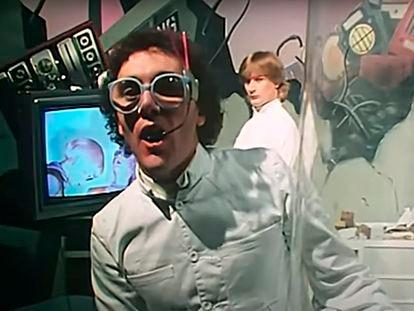 Imagen del clip 'Video Killed the Radio Star' de los Buggles, el primero que emitió la MTV en agosto de 1981.