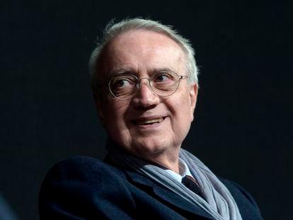 El periodista italiano Paolo Flores D'arcais en una imagen en 2018 en Roma, Italia.