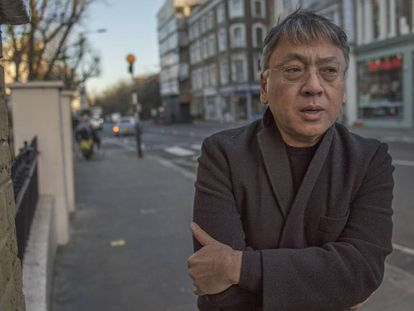 Kazuo Ishiguro, en Londres en 2019.