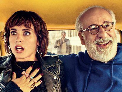 Verónica Echegui y Toni Servillo, en ¡'Déjate llevar!'.