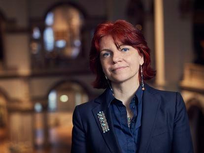Henrietta Lidchi, conservadora jefe del Museo Nacional de las Culturas del Mundo.