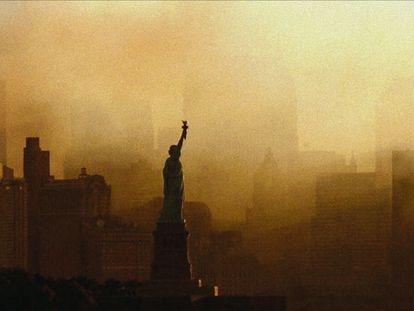 Una imagen de 'Momentos decisivos', serie documental de Netflix sobre el 11-S.