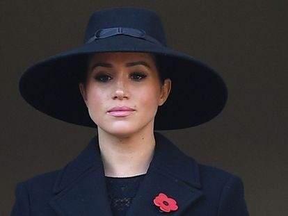 Meghan Markle, en noviembre de 2019 en Londres.