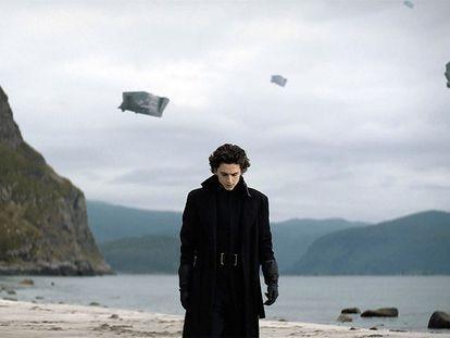 El actor Timothée Chalamet, en 'Dune', de Denis Villeneuve.