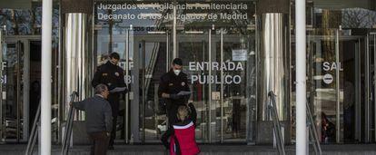 Juzgados de Plaza de Castilla, donde se tramita la denuncia de la Fiscalía.