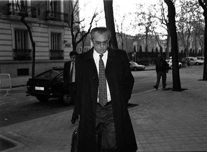 Carlos Bueren, en 1995, cuando era juez de la Audiencia Nacional.