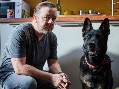 Ricky Gervais en 'After Life'. En vídeo, el tráiler de la serie.