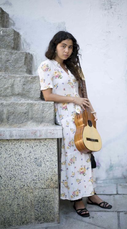 Silvana Estrada, este domingo en Madrid.