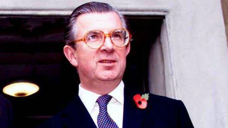 Sir George Magan, retratado en noviembre de 1999.