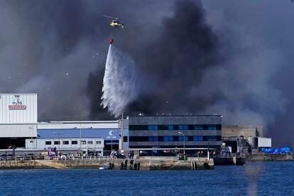 Incendio en las instalaciones de la empresa Jealsa.