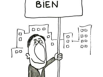 Ilustración de Miguel Gila incluida en el libro de Blackie Books.