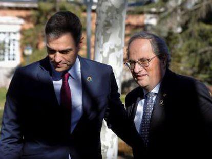 El Gobierno y la Generalitat pactan un comunicado conjunto tras tres horas de reunión