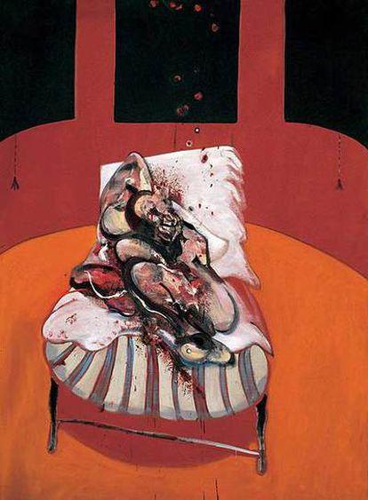 Sangre, soledad, distorsión de la condición humana: Bacon en Londres.