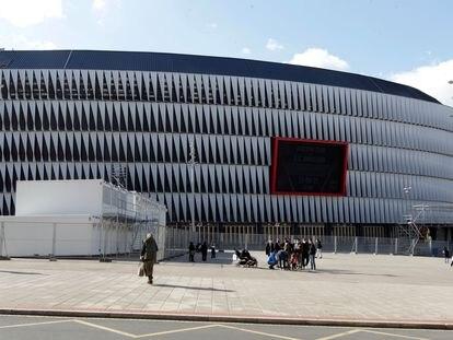 El estadio San Mames en Bilbao.